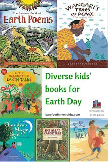 Diverse Children's Books for Earth Day + Giveaway. Teach children to care for the earth with these stories from around the globe. Earth Poems, Barefoot Books, Book Lists, Reading Lists, Day Book, Children's Literature, Earth Day, Book Recommendations, Kids Learning