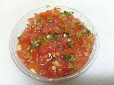 Recette Rougail tomate à la coriandre ou cotomili de la Réunion