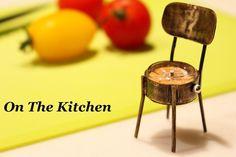 《Via Appia シリーズ》オリジナルデザインの椅子のかたちをした置時計です。材質は真鍮を使いまして、アンティーク風に仕上げました。ムーブメント、針以外は...|ハンドメイド、手作り、手仕事品の通販・販売・購入ならCreema。
