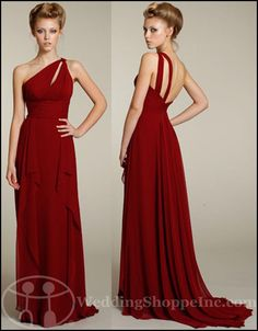Red Wedding Ideas - Bridesmaid+Dresses | My Wedding Chat » Blog Archive Find Lazaro Bridal Party Dresses by ...