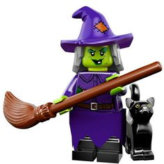ee194adc35 LEGO Minifigures Series 14 (4) Wacky Witch - Phù thuỷ độc ác Lego Worlds