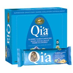 Qi'a Superfood Snack Bar - Blueberry Cashew Pumpkin Seed | Nature's Path