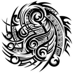 Tribal half sleeve Tattoo Design