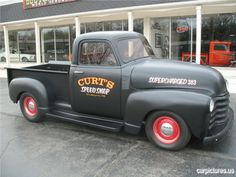 1949 Chevrolet Hot Rod Pick Up @carpictures classic cars, vintage cars, old cars, car pictures,