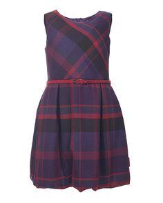 Φόρεμα καρό για κορίτσια με στυλ!
