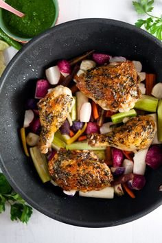 Pan-Roast Chicken an