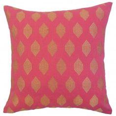 Gal Geometric Pillow Magenta