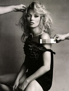 kate moss, one of my favorite models.