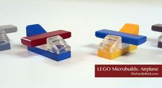 Do you like microbuilds? Why not check out this LEGO microbuild airplane? Easy to make and it only takes 5 LEGO parts!