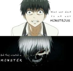Tokyo Ghoul Quotes, Ken Tokyo Ghoul, Sad Anime Quotes, Manga Quotes, Kaneki, Anime Manga, Anime Guys, Anime Depression, Tokyo Ghoul Wallpapers