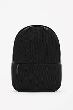 COS   Leather and mesh backpack