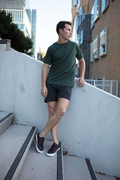Weekend Style Non-Stop Shorts Cobba launch collection Men's fashion Men's shorts Urban men City life Urban living Gym shorts Everyday Shorts Manson Black Kickstarter Lululemon Shorts, Gym Shorts, Short Shorts, Summer Shorts, Urban Fashion, Mens Fashion, Sperrys Men, American Eagle Men, Weekend Style