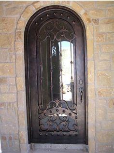 Single Doors On Pinterest Wrought Iron Doors Doors And