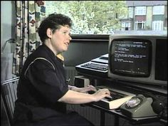 A 1984 British Television Clip Demonstrating How to Send Email Using the Prestel System