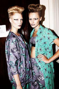 London Fashion Week Spring/Summer 2014: Fam Irvoll - Hairdressers Journal