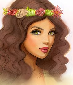 May Flowers by gabbyd70*  Absolutely love her style of drawing