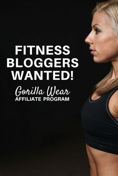 Monetize your blog and join the gorilla wear affiliate program! Fitness blogs, health blogs, wellness, work out, gym, style. High paying affiliate programs for bloggers fitness health gorilla wear affiliate AFFILIATE - fashion lifestyle clothing style blogs monetize a blog niches make money blogging network make money blogging