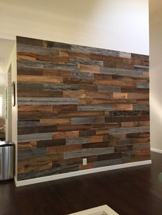Shop every style of Artis Wall® authentic reclaimed wood planks. Every Artis Wall® plank is reclaimed from around the USA and each has its own unique story. Diy Pallet Wall, Pallet Walls, Pallet Tv, Wood Plank Walls, Wood Planks, Wall Wood, Wood Paneling, Palet Wood Wall, Reclaimed Wood Walls