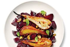 Roasted Beets With Pears and Pistachios Recipe - NYT Cooking