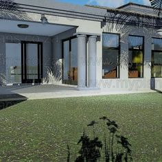 6 Bedroom House Plans MLB-1820S – My Building Plans South Africa