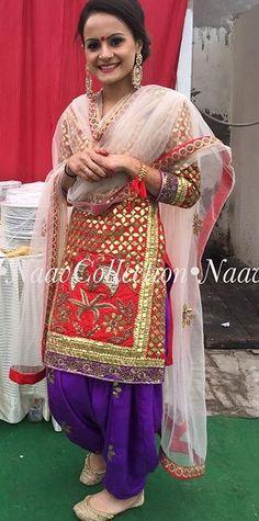 Salwar Kurta, Punjabi Salwar Suits, Patiala Suit, Pakistani Suits, Indian Suits, Indian Dresses, Indian Wear, Anarkali, Punjabi Girls