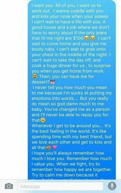 61 Ideas Funny Relationship Texts Feelings For 2019 Relationship Paragraphs, Cute Relationship Texts, Freaky Relationship, Message For Boyfriend, Boyfriend Texts, Boyfriend Quotes, Text For Boyfriend, Gift Boyfriend, Bae Quotes