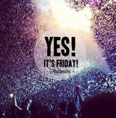 1,2,3 Go! Se abre el coto de festivales. Este fin de semana tenemos el Primavera Sound en BCN! ¿Cual es o era tu festival de música favorito? #yesitsfriday #friday #viernes #itsfriday #festivales