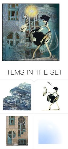 """stormy weather"" by bapiep ❤ liked on Polyvore featuring art"
