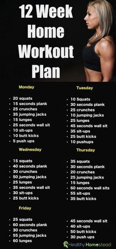 Awesome 12 week workout routine at home for beginners. This simple workout plan . - Workout at Home Fitness Workouts, Fitness Herausforderungen, Fitness Motivation, Physical Fitness, Health Fitness, Fitness Weightloss, Muscle Fitness, Beginner Workouts, Fun Workouts