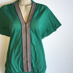 Boho style top Cute top, comfortable to wear, boho style design, love it paired with shorts or skinny jeans, in great condition Charlotte Russe Tops Blouses