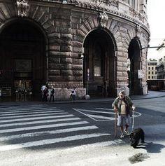 """#Genova secondo gli """"Igers"""". Via Venti Settembre"""