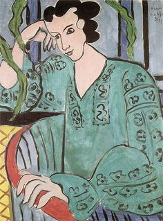 ♀ Painted Art Portraits ♀  Henri Matisse