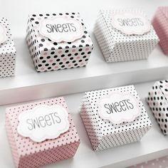 PUDEŁECZKA dla dziewczyn Sweets 6szt