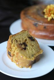 Week of Menus: Pumpkin Chocolate Chip Bundt Cake with Cardamom Ginger Soaking Syrup: Sharing makes it better