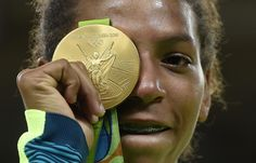 "8/10/16 BRAZILIAN RAFAELA SILVA WINS GOLD!... Via   ST Sports Desk:  ‏   #Olympics: ""They said I was a disgrace. (Now I'm a) champion in my home town,"" - Brazilian Rafaela Silva: 1st-Time #JUDO GOLD Winner!"