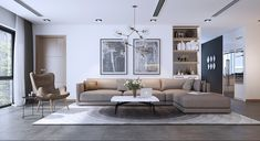 Roohome.com - For you who still looking for living room design ideas, here the best website that you can visit to solve your problem. There are adorable living room designs which arranged with a perfect decor. The designer here offers you an awesome living room that combines with wooden and chic ...