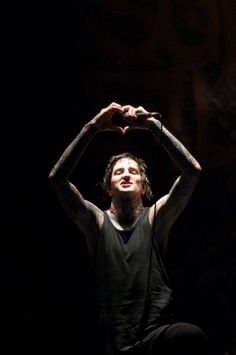 Mitch Lucker My heart just shattered into a million pieces