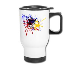 I'm feeling patriotic today. Travel Mug, Mugs, Tableware, Stuff To Buy, Dinnerware, Tumblers, Tablewares, Mug, Dishes