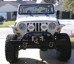 """Resultado de imagen para """"jeep LJ"""" on 40s trimmed fenders"""
