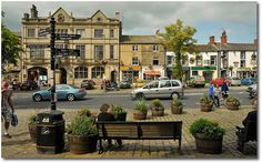 Skipton is a small town in the English Dales. Yorkshire England, Yorkshire Dales, North Yorkshire, Skipton Yorkshire, English Village, Northern England, Kingdom Of Great Britain, English Countryside, British Isles