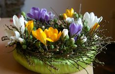 dekoracje wielkanocne - Google keresés Ikebana, Plants, Google, Crown Cake, Nature, Plant, Flower Arrangements, Planets