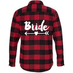 The Bride's Cowgirl Gang Maid Of Honor: Unisex Burnside Long Sleeve Flannel Shirt -- Awesome products selected by Anna Churchill Football Girlfriend Shirts, Football Shirts, Buffalo, Plaid Flannel, Flannel Shirts, Bachelorette Party Shirts, Comfy Hoodies, T 4, Maid Of Honor