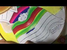 Pintura En Tela Mexicano # 3 Con Cony - YouTube
