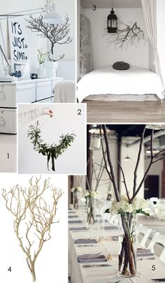 decorating with large branches