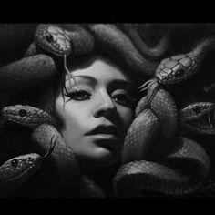Medusa Tattoo Design, Tattoo Designs, Medusa Art, Ancient Greek Sculpture, Planet Tattoos, Snake Art, Tattoo Now, Alien Art, Architecture Tattoo