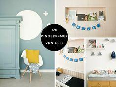 Ben je op zoek naar babykamer inspiratie voor een jongen? De slaapkamer van baby Olle is een mooie mix van Scandinavisch en vintage. Wij mogen