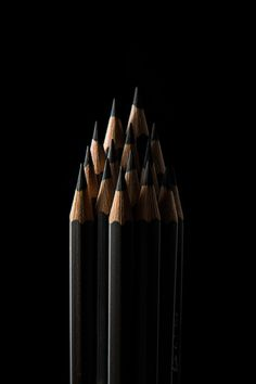 Black Pencils by JINHYUNG GIL on 500px