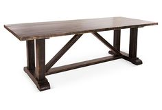 """Lombard 95"""" Dining Table"""