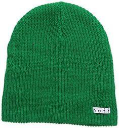 Unisex Daily Beanie Winter Warm Slouchy Hat Soft Headwear One Size Olive