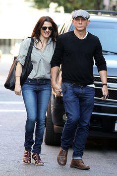 Rachel Weisz & Daniel Craig..not celeb stalker but aaaaaw